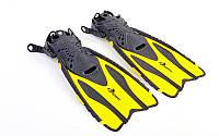 Ласты для плавания DORFIN 448 (р. 38-41, желтые)