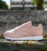 Кроссовки женские Reebok Classic  Leather NT (Rose Cloud/White)