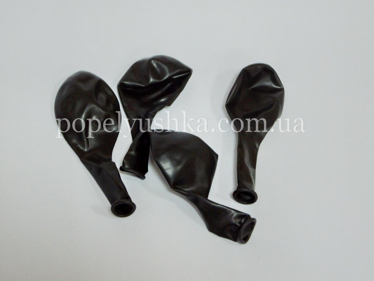 """Кулька повітряна """"Gemar""""  26 см чорна"""