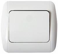 Выключатель лестничный с рамкой  s035021 E. NEXT