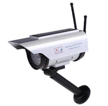 Муляж камеры видеонаблюдения на солнечной батарее