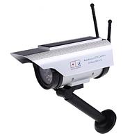 Муляж камеры видеонаблюдения на солнечной батарее, фото 1