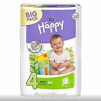 ПОДГУЗНИКИ HAPPY BELLA (BIG PACK) №4 (8-18 кг) 66 шт.
