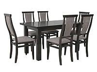 Комплект стол и стулья Барри  (Лак Венге) раскладной