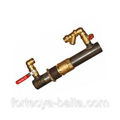 Байпас для систем отопления DN 40 клапан (короткий)