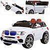 Детский электромобиль джип BMW MP4 планшет