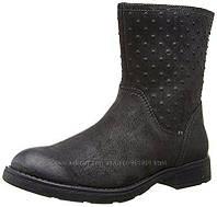 Сапоги кожаные демисезонные для девочки Geox 29EU 11US
