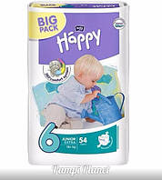 ПОДГУЗНИКИ HAPPY BELLA (BIG PACK) №6 (16+кг) 54 шт.