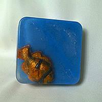 Соляное мыло-скраб ручной работы.