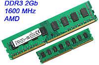 Оперативная память DDR3 2GB KVR16N11/2 AMD AM3, AM3+ для настольных ПК