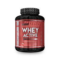 Сывороточный протеин Клубника, Whey Active Erdbeer ACTIWAY (2.27 kg)