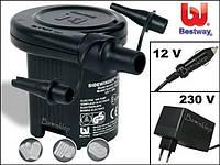 Насос электрический работающий от прикуривателя для накачивания продукции BestWay intex