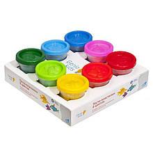 Набір для дитячого ліплення Тісто-8 кольорів пластилін
