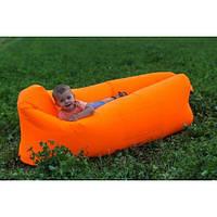 Шезлонг надувной ламзак Lamzac мешок 24070см R16332 Orange