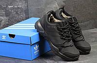 Мужские кроссовки Adidas Terrex, черные, с мехом