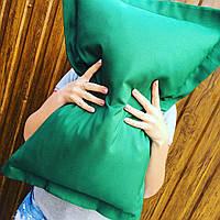 Подушка декоративная 60х40см. Зеленая.