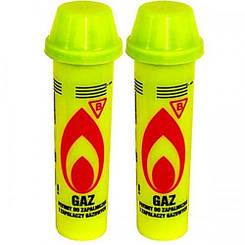 Газ для заправки зажигалок желтый польский