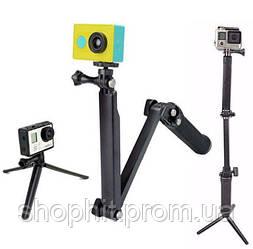Монопод трипод GoPro 3-Way Bluetooth для экшн камера