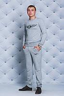 Мужской спортивный костюм св-серый