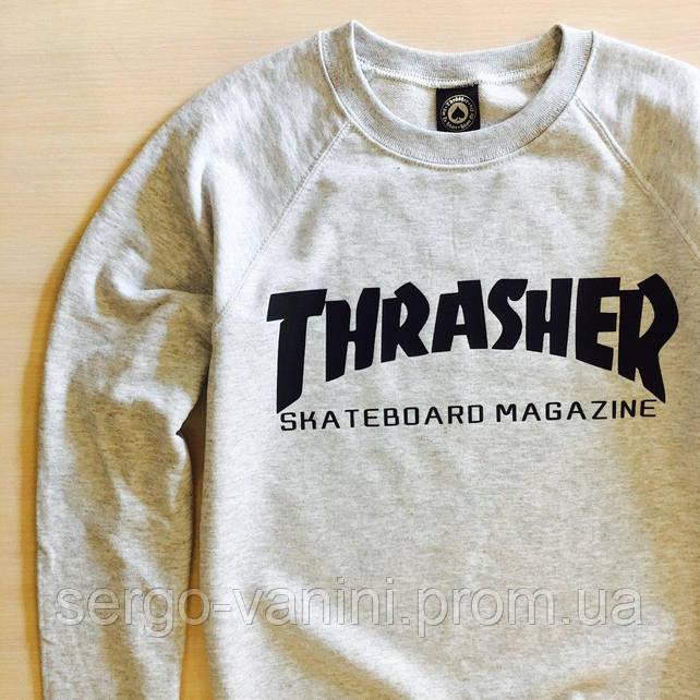 Thrasher свитшот женский | Бирки на фотках | Трешер толстовка
