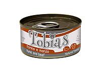 Консерва для собак Tobias Тунец и говядина 170 г