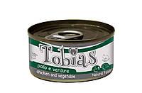 Консерва для собак Tobias Курица с овощами 170 г