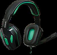 Игровая компьютерная гарнитура Defender Warhead G-275 зеленый + черный, фото 1