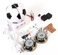 """DIY набор для сборки мини акустической системы """"Футбольный мяч"""""""