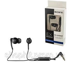Наушники гарнитура Sony MH-EX300AP для Sony Xperia X F5121 / X Performance F8132