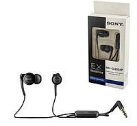 Наушники гарнитура Sony MH-EX300AP для Sony Xperia M4 Aqua