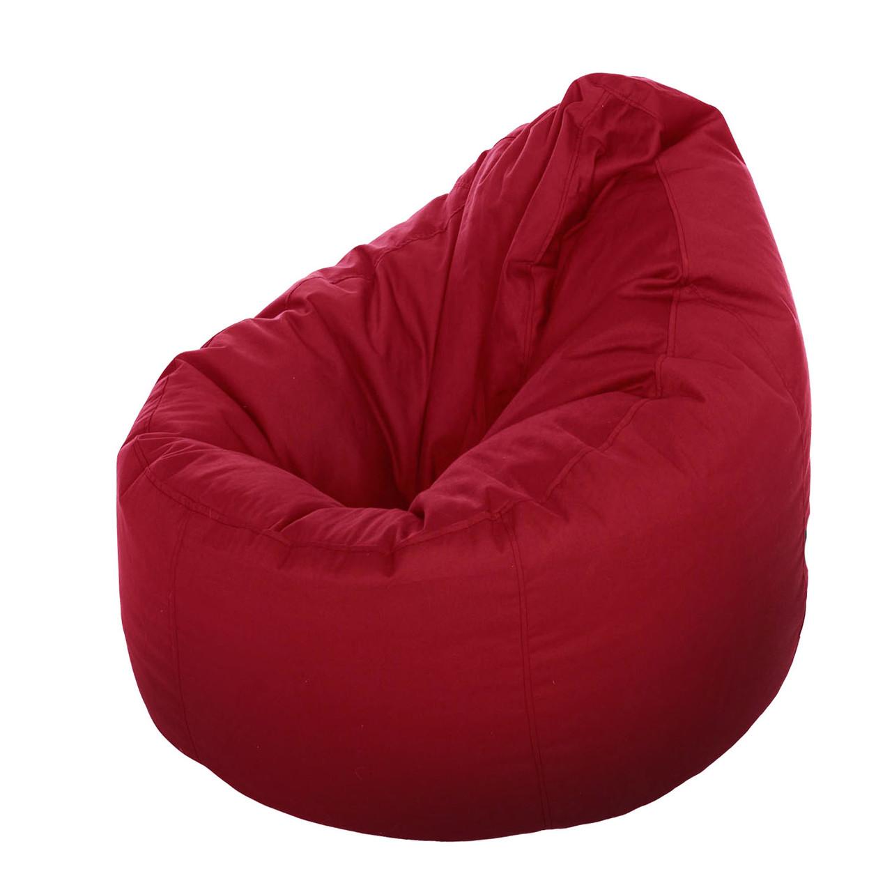 Bean bag (Кресло-мешок) Груша XL красное