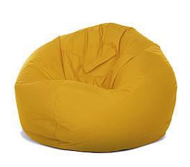 Кресло-мешок Груша XL желтого цвета
