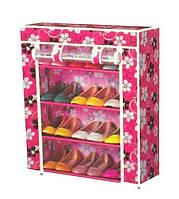 Шкаф для обуви тканевый цветной