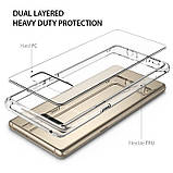 Чохол Ringke Fusion для Samsung Galaxy Note 8 Clear, фото 3