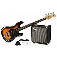 Бас гитарный набор Fender Squier PJ Bass Pack (BS)