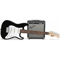 Гитарный набор Fender Squier Strat Pack SSS (BK)