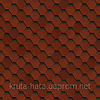 Битумная черепица Shinglas Кадриль Соната Турмалин (красная)