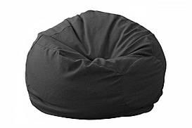 """Бескаркасное кресло """"Груша XL"""" черного цвета"""