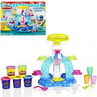 Набор для творчества с пластилином Play-Doh «Фабрика мороженого» B0306 Hasbro
