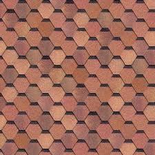 Битумная черепица Shinglas Кадриль Соната Яшма (красно-коричневая), фото 2
