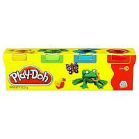 Детский набор пластилина Play-Doh 23241 Hasbro, 4 мини-баночки