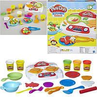 Набор для творчества с пластилином Play-Doh «Веселая плита» B9014 Hasbro