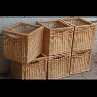 Плетеные короба (ящики)