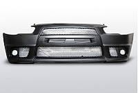 Бампер передний в стиле Mitsubishi Lancer X EVO ZPMI01