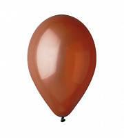 """Воздушный шар  пастель бронзовый 12"""" (30 см)"""
