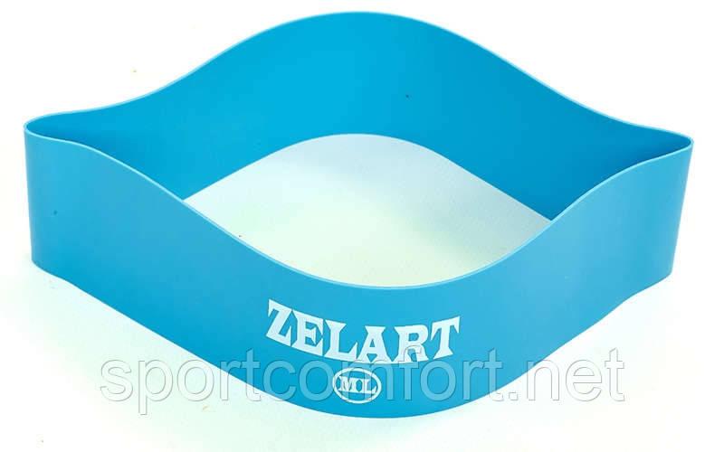 Лента сопротивления кольцевая Zelart (МL)