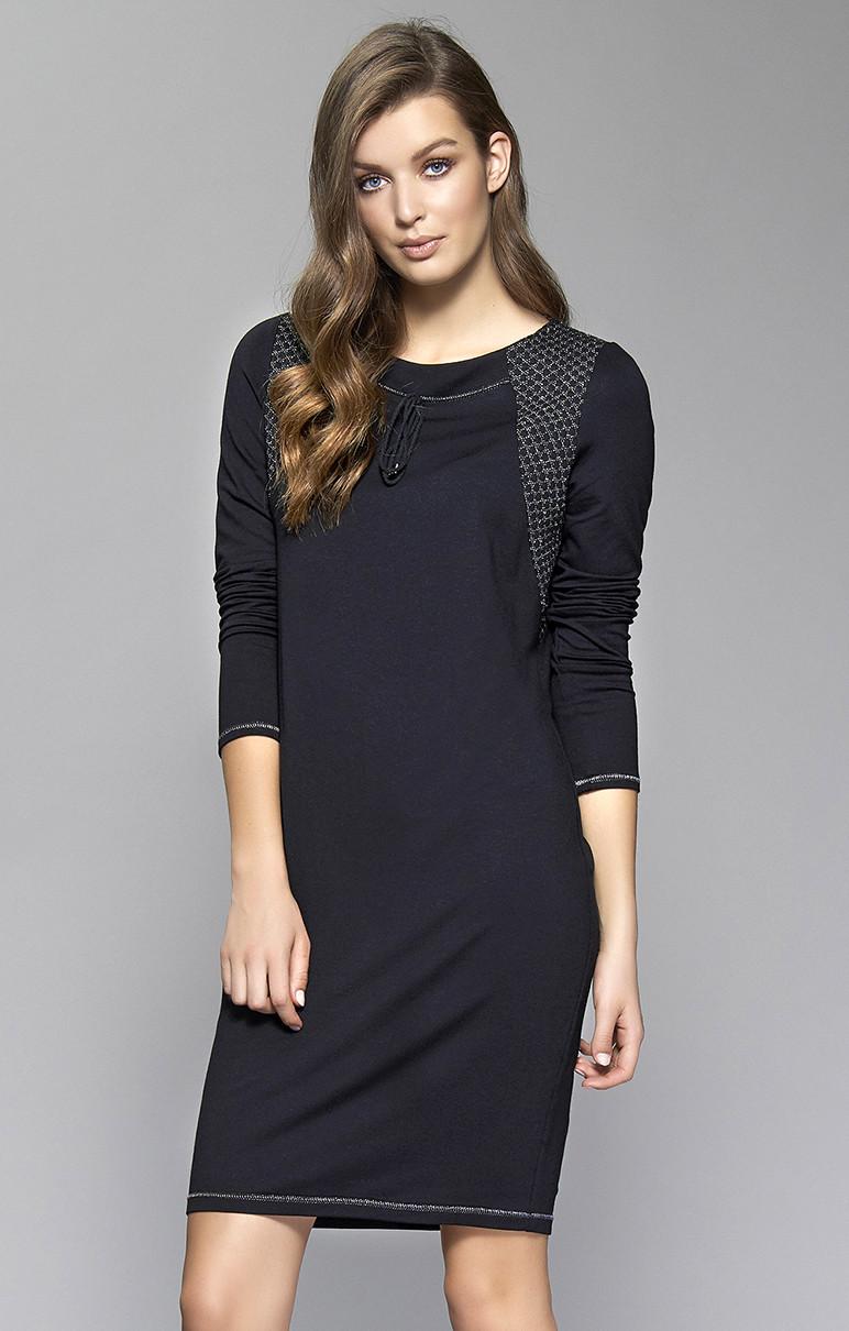 Женское платье Sini Zaps черного цвета. Размер S