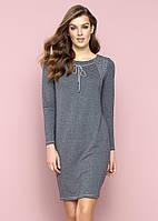 Женское платье Sini Zaps серого цвета. Коллекция осень-зима 2017-2018