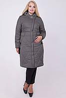 Зимняя стеганная куртка Саманта