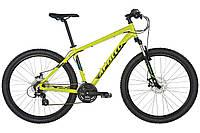 "Велосипед 27,5"" Apollo ASPIRE 20 рама- L 2017 Gloss Lime/Gloss Black/Gloss Blue"